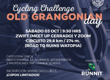 Cycling Challenge Old Grangonian Day