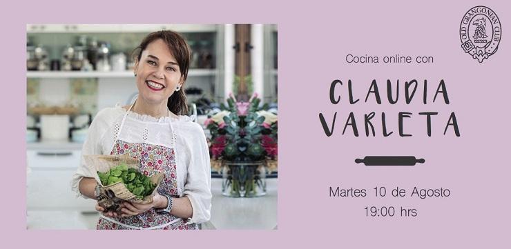 CLASE DE COCINA CLAUDIA VARLETA (OG '85)